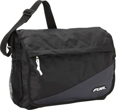 Fuel Fuel Color Block Messenger Graphite - Fuel Messenger Bags