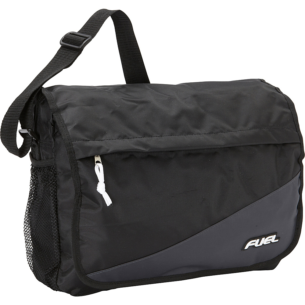 Fuel Color Block Messenger Graphite Fuel Messenger Bags