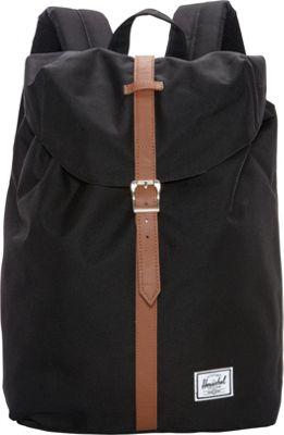 Herschel Supply Co. Post Backpack Black - Herschel Supply Co. Everyday Backpacks