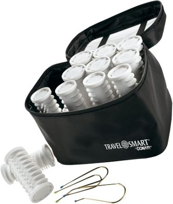 Travel Smart by Conair Instant Heat Multisized Hot Rollers White/Black - Travel Smart by Conair Travel Health & Beauty
