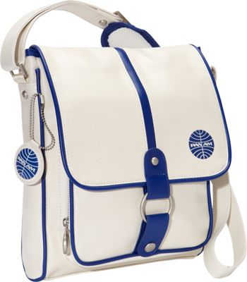 Pan Am Originals - Traffic Vintage White/Pan Am Blue - Pan Am Other Men's Bags