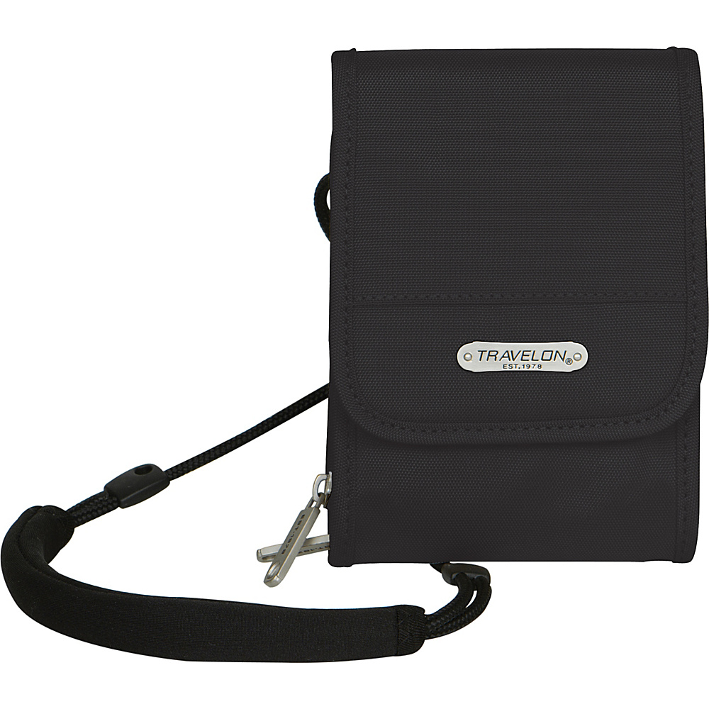 Travelon Anti-Theft Classic Travel Wallet Black - Travelon Travel Wallets - Travel Accessories, Travel Wallets