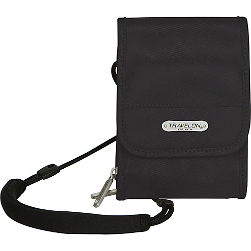 Travelon Anti-Theft Classic Travel Wallet Black - Travelon Travel Wallets