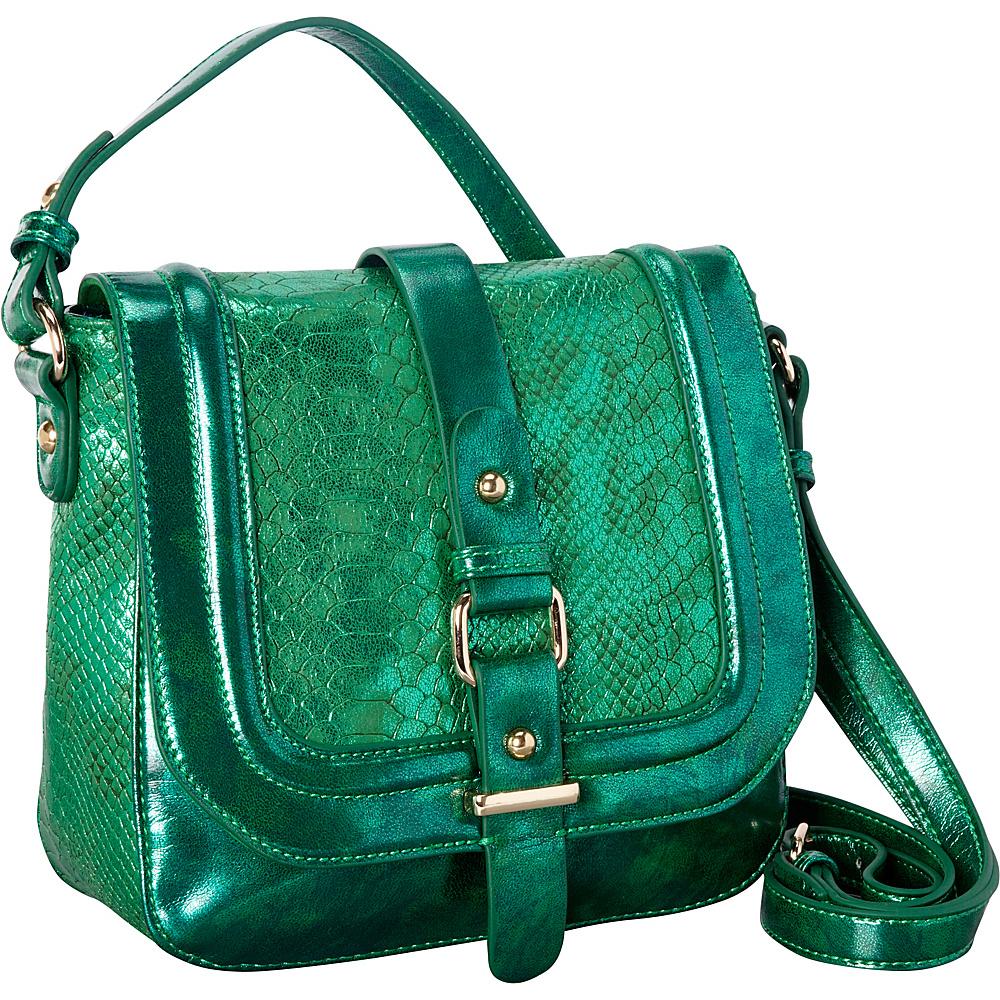 Melie Bianco Jewel Green - Melie Bianco Manmade Handbags