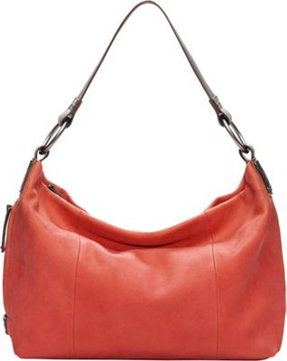 Ellington Handbags Sadie Shoulder Bag Coral - Ellington Handbags Leather Handbags