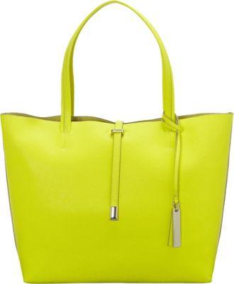 Vince Camuto Leila Tote Bag Sulphur Spring - Vince Camuto Designer Handbags