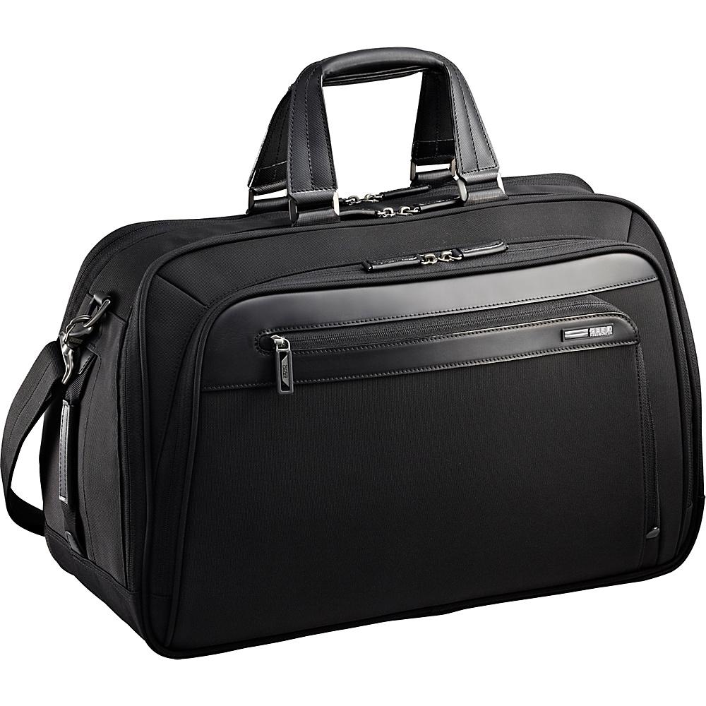 "Zero Halliburton Profile 20"" Business Duffel Bag Black - Zero Halliburton Rolling Duffels"