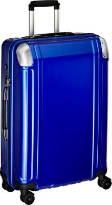 Zero Halliburton Geo Polycarbonate 26 inch 4 Wheel Spinner Travel Case Blue - Zero Halliburton Hardside Checked