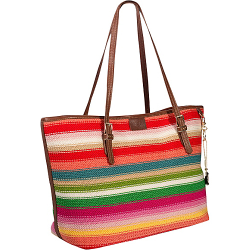 The Sak Nantucket Large Tote Beach Stripe - The Sak Leather Handbags