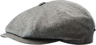 Stetson Hatteras Silk/Cashmere Cap XL - Brown - Stetson Hats/Gloves/Scarves