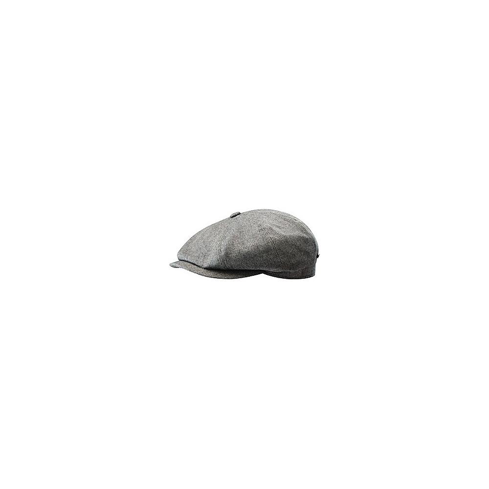 Stetson Hatteras Silk Cashmere Cap Brown XLarge Stetson Hats Gloves Scarves