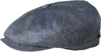 Stetson Hatteras Silk/Cashmere Cap L - Grey - Stetson Hats/Gloves/Scarves