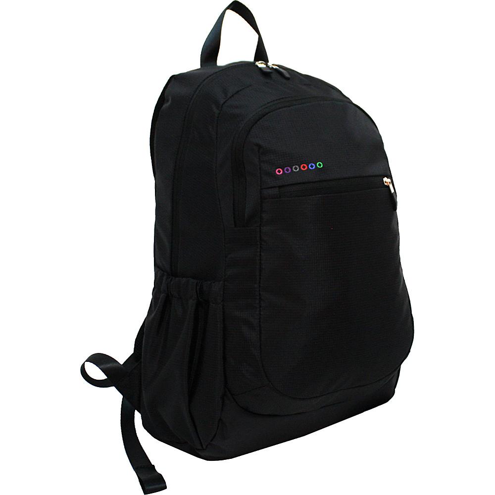 J World New York Benson Laptop Backpack Black - J World New York Business & Laptop Backpacks - Backpacks, Business & Laptop Backpacks