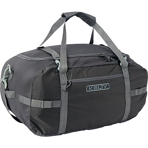 Kelty Portage Duffel Medium Raven - Kelty Lightweight packable expandable bags