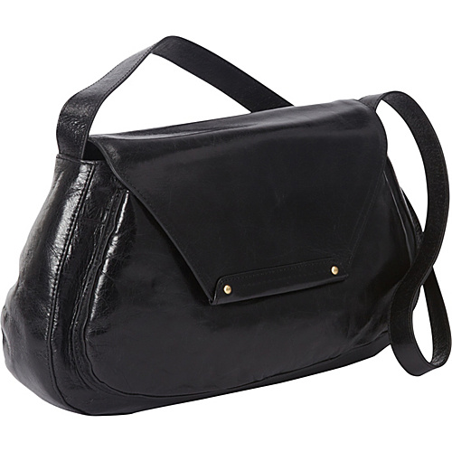 Hobo Leona Black - Hobo Leather Handbags