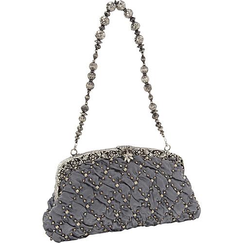 Moyna Handbags Antique Purse Charcoal Pewter