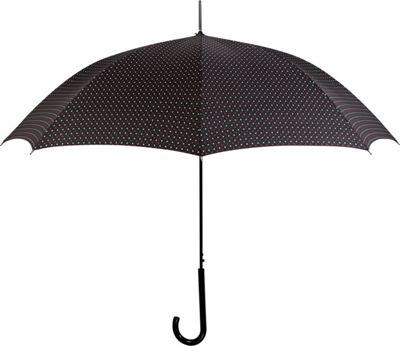 Leighton Umbrellas Milan DL black/red/white - Leighton Umbrellas Umbrellas and Rain Gear