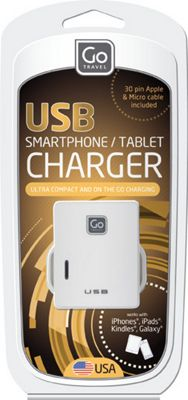 Go Travel Twin USB Charger