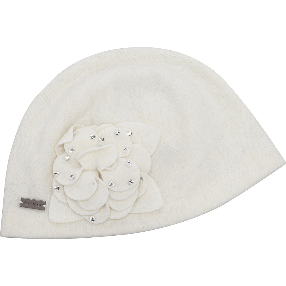 Betmar New York Carol Winter White Betmar New York Hats Gloves Scarves