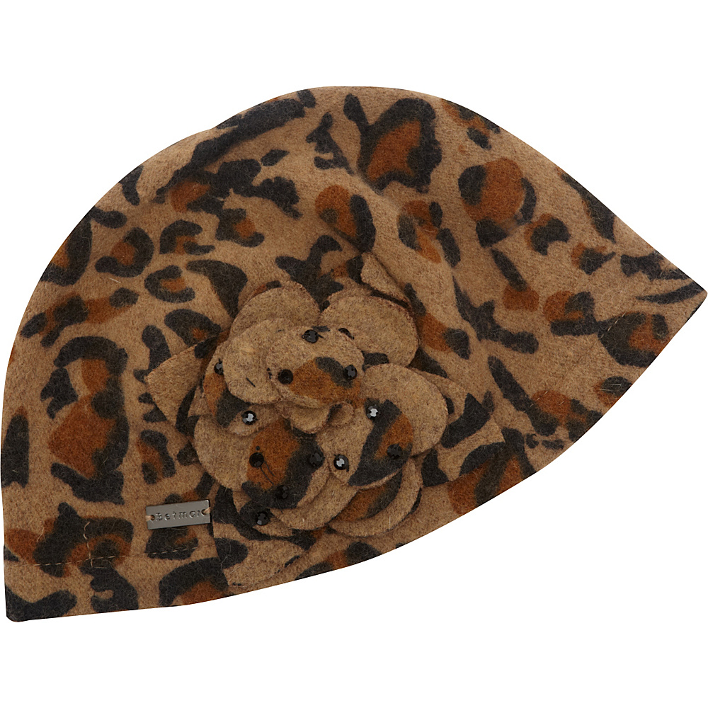 Betmar New York Carol Leopard Betmar New York Hats Gloves Scarves