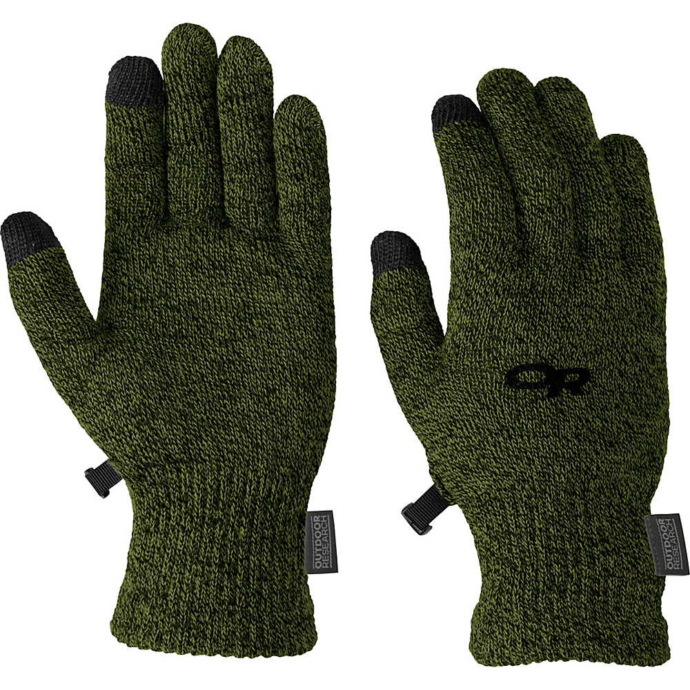 Outdoor Research Biosensor Liners Men s Evergreen Large Outdoor Research Hats Gloves Scarves