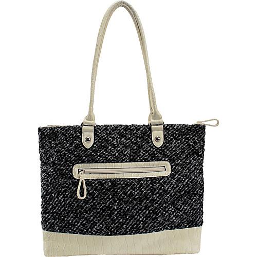 Parinda Allie Tweed Smoke - Parinda Manmade Handbags