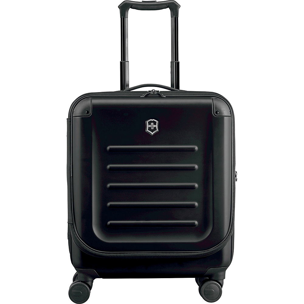 Victorinox Spectra 2.0 Dual-Access Extra Capacity Carry-On Black - Victorinox Softside Carry-On