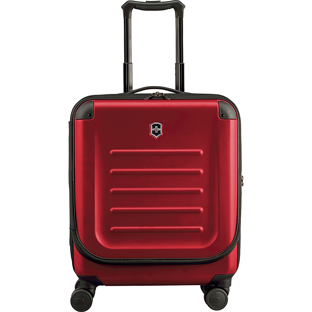 Victorinox Spectra 2.0 Dual-Access Extra Capacity Carry-On Red - Victorinox Softside Carry-On