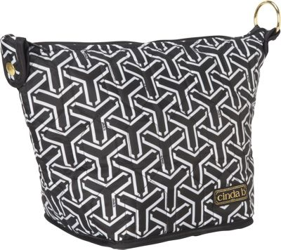 cinda b X-Large Cosmetic II Jet Set Black - cinda b Women's SLG Other
