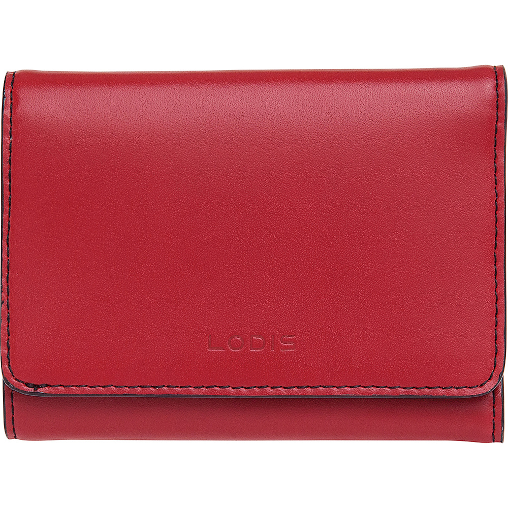 Lodis Audrey RFID Mallory French Wallet New Red - Lodis Womens Wallets - Women's SLG, Women's Wallets