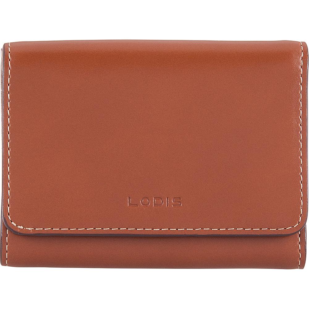 Lodis Audrey RFID Mallory French Wallet Sequoia/Papaya - Lodis Womens Wallets - Women's SLG, Women's Wallets