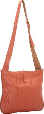 J P Ourse Park Avenue Patchwork Curry/Tan - J. P. Ourse & Cie. Leather Handbags