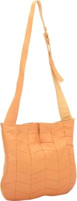 J. P. Ourse & Cie. Park Avenue Patchwork Tangerine/Butter - J. P. Ourse & Cie. Leather Handbags