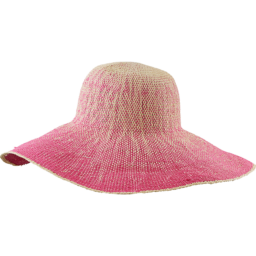 San Diego Hat Ombre Paper Floppy Paradise Pink San Diego Hat Hats Gloves Scarves