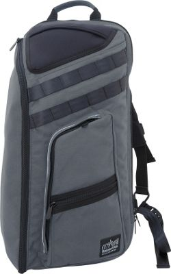 Manhattan Portage Chambers Bag Gray - Manhattan Portage Business & Laptop Backpacks