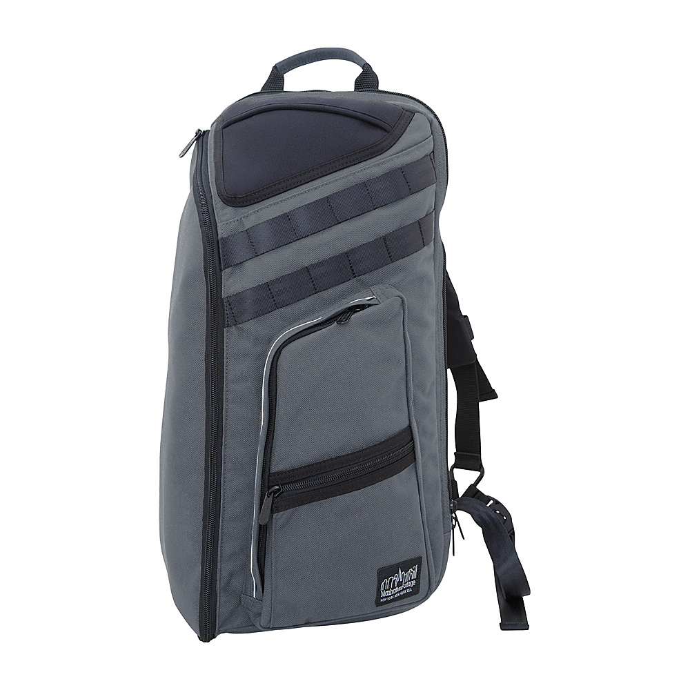 Manhattan Portage Chambers Bag Gray - Manhattan Portage Business & Laptop Backpacks - Backpacks, Business & Laptop Backpacks
