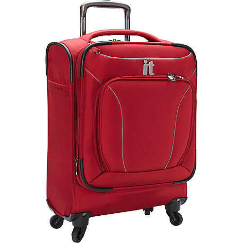 IT Luggage MegaLite Premium 22 Carry On by it luggage USA Red - IT Luggage Small Rolling Luggage