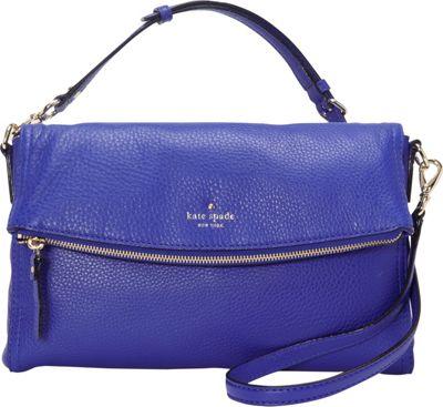 kate spade new york Cobble Hill Carson Crossbody Bag Bright Lapis - kate spade new york Designer Handbags