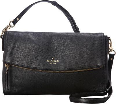 kate spade new york Cobble Hill Carson Crossbody Bag Black - kate spade new york Designer Handbags