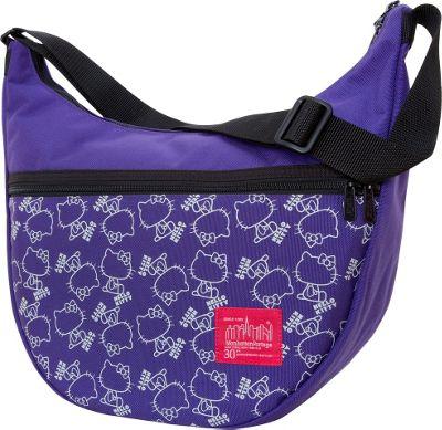 Manhattan Portage X Hello Kitty Nolita Shoulder Bag Purpl...