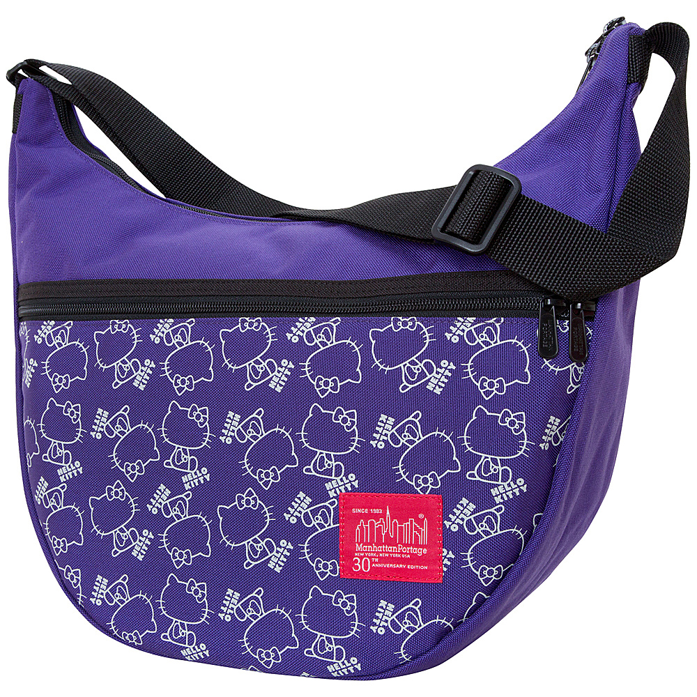 Manhattan Portage X Hello Kitty Nolita Shoulder Bag Purple - Manhattan Portage Manmade Handbags - Handbags, Manmade Handbags