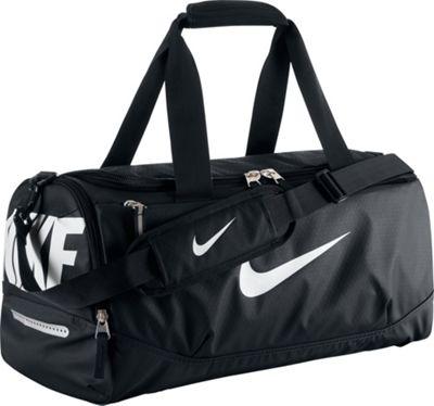 Nike Team Training Max Air Small Duffel Black/Black/White - Nike All Purpose Duffels 10294317