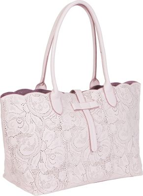 BUCO Tab Top Paisely Pink - BUCO Manmade Handbags