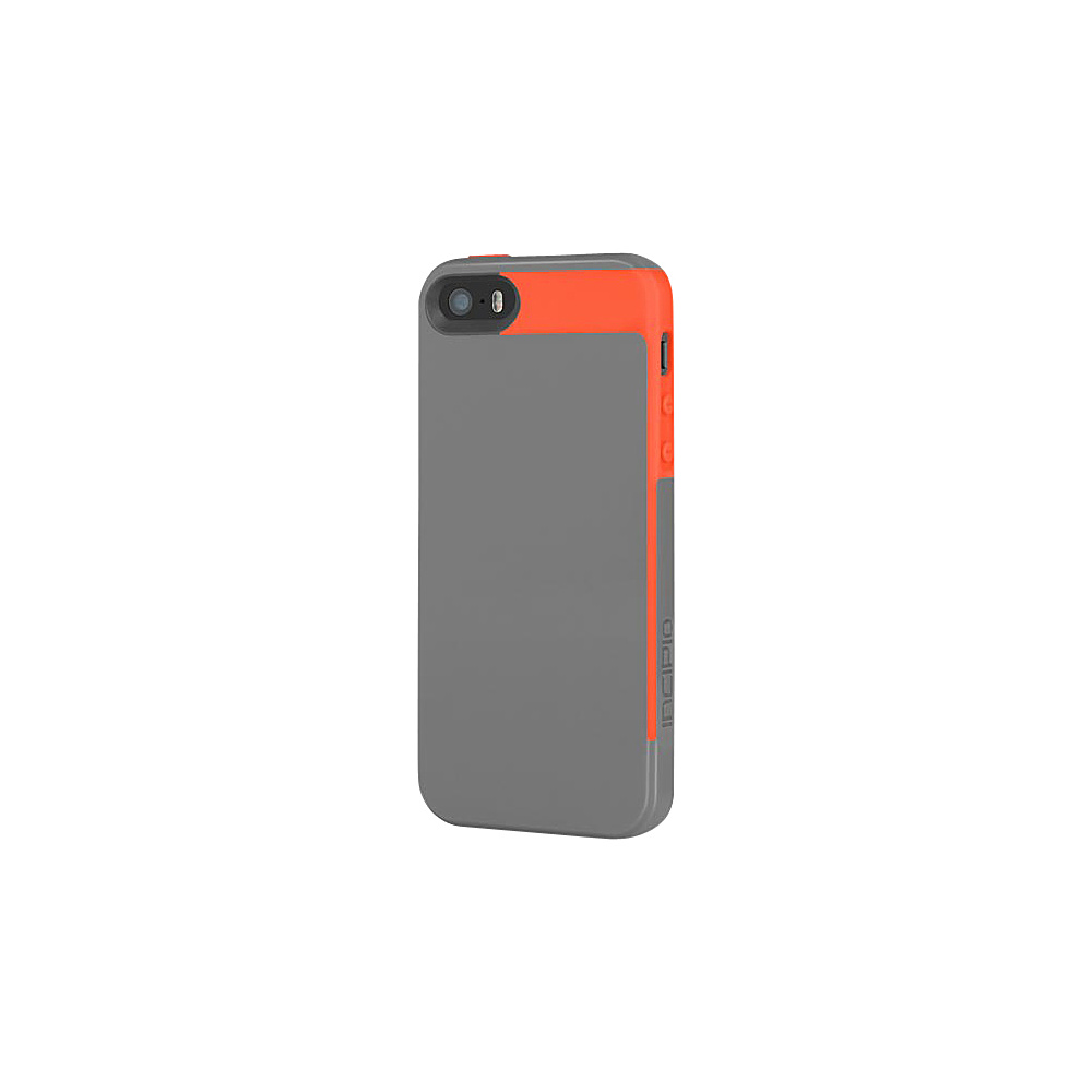 Incipio Faxion for iPhone SE/5/5S Gray/Orange - Incipio Electronic Cases - Technology, Electronic Cases