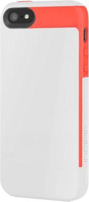 Incipio Faxion for iPhone SE/5/5S White/Red - Incipio Electronic Cases
