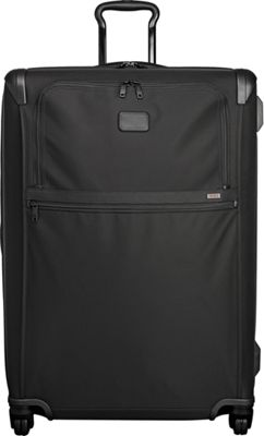 Tumi Alpha 2 Extended Trip Expandable 4 Wheeled Packing Case Black - Tumi Softside Checked