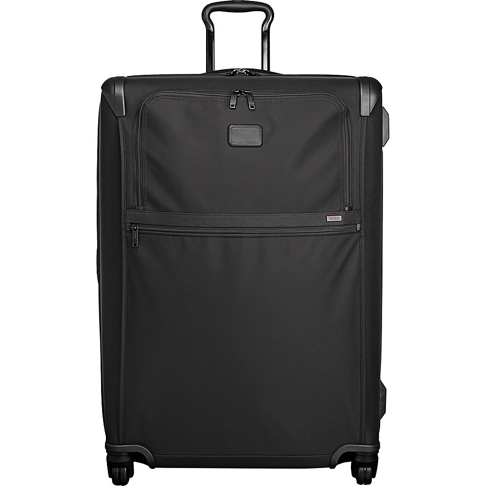 Tumi Alpha 2 Extended Trip Expandable 4 Wheeled Packing Case Black - Tumi Softside Checked - Luggage, Softside Checked