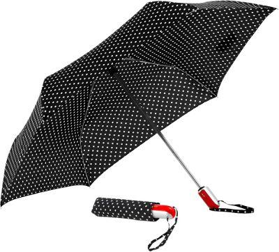 ShedRain Auto Open & Close Compact Umbrella Prom Dress Red - ShedRain Umbrellas and Rain Gear