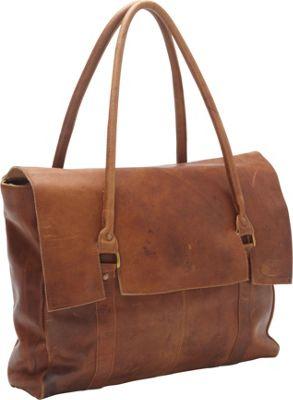 Sharo Leather Bags Large Soft Leather Handbag Brown - Sharo Leather Bags Leather Handbags