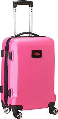 "Denco Sports Luggage NCAA 20"""" Domestic Carry-On Pink University of Arkansas Razorbacks - Denco Sports Luggage Hardside Carry-On"